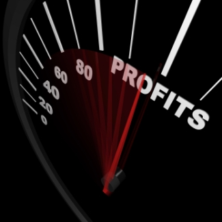 Rising Profits - Successful Business